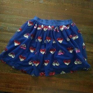 Cat & Jack Heart Tutu Skirt