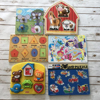Toddler Puzzle Lot