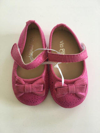 Pink Shimmery Shoes