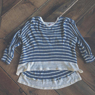 Splendid Nautical Striped Sweater