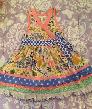 Matilda Jane May Day Dress Size 4 Vguc
