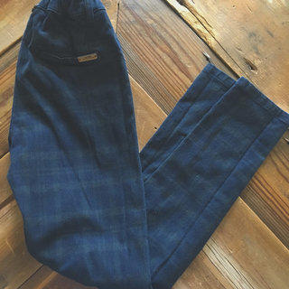 Zara Boys Skinny Plaid Pants