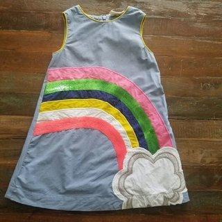 Mini Boden Sequin Rainbow