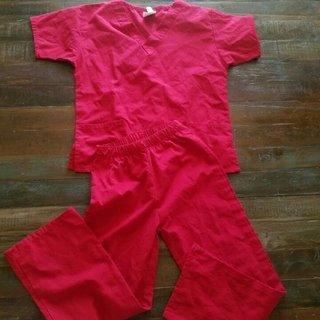 Nurse Doctor Costume Scrubs