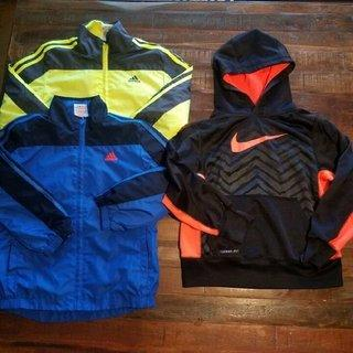 Boys Adidas Nike Jackets
