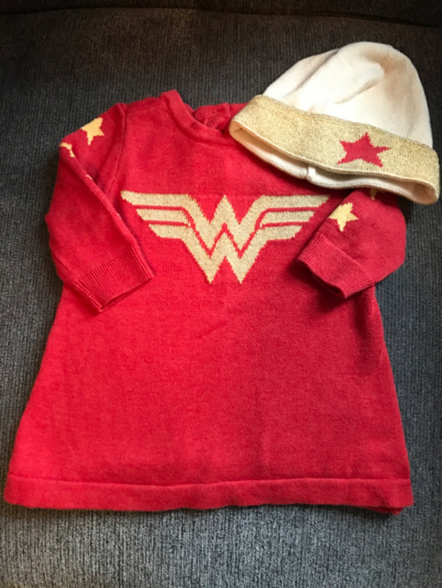 c805585e3 Gap Wonder Woman Sweater Dress