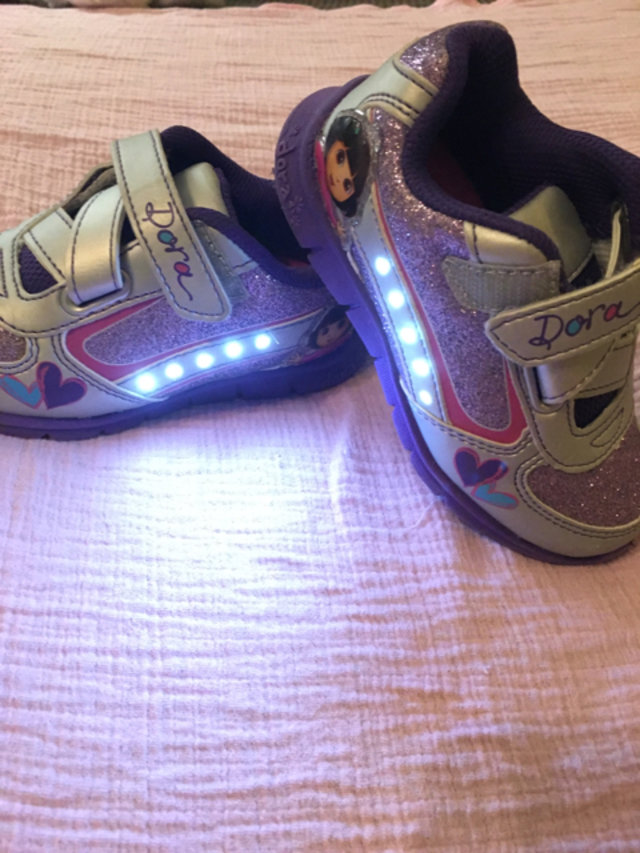 Dora the Explorer LightUp Tennis Shoes