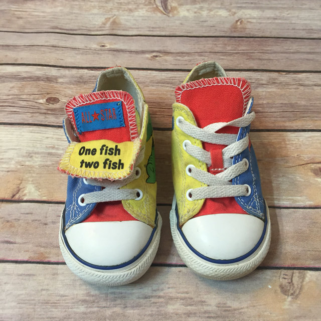 Dr Seuss One Fish Two Fish Converse