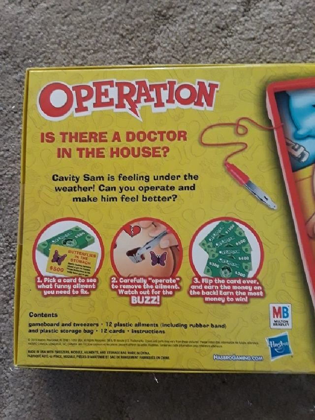 Brand New Operation Game