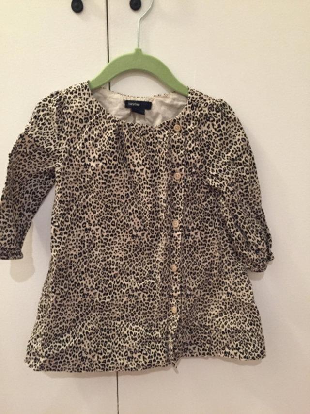 Baby Gap Leopard Print Dress