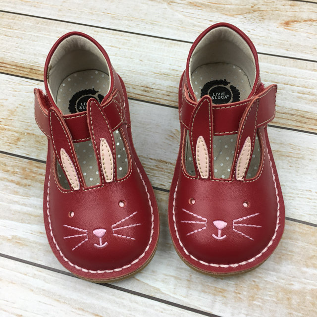 NEW Livie \u0026 Luca Molly Red Bunny Shoes
