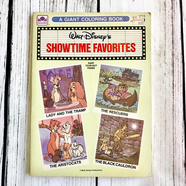 Vintage Disney Coloring Book