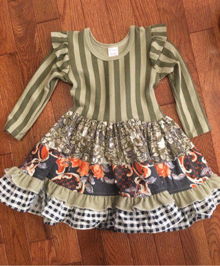 Nwt Giggle Moon Yellow Floral Dress Size 2t Clothing, Shoes & Accessories