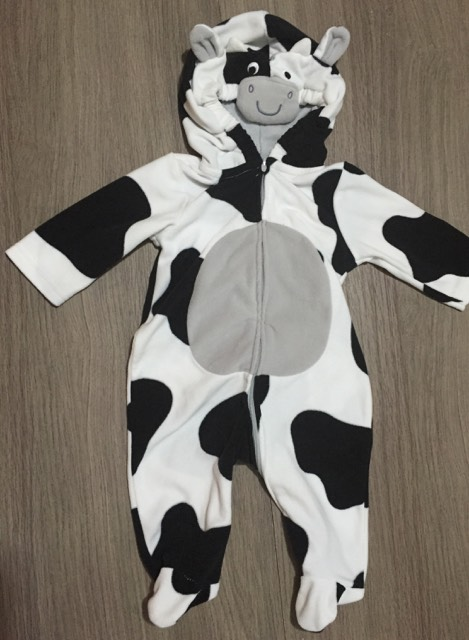 & Carteru0027s 3-6m Cow Halloween Costume