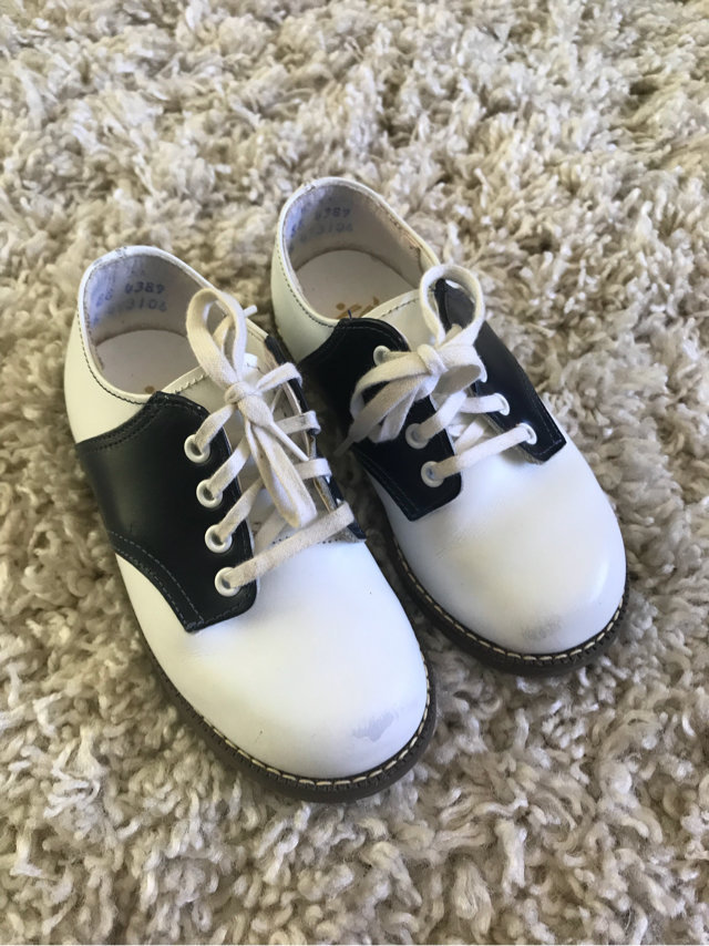 Classic Stride Rite Saddle Shoes