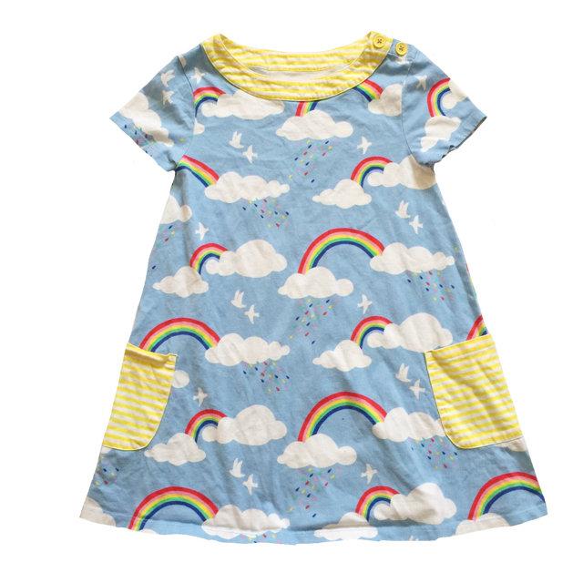f52508950f11 Mini Boden Rainbow Dress