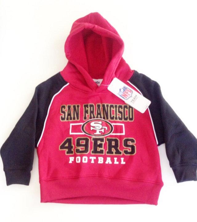 4b479c81 SF 49ers Football Hoodie