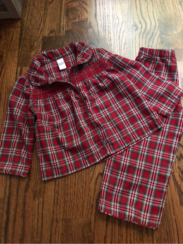 51ad992369e9 Message Seller; Add to collection Checked collection Add to Collection.  Janie & Jack Plaid Christmas Smocked. $15.50 | FREE shipping