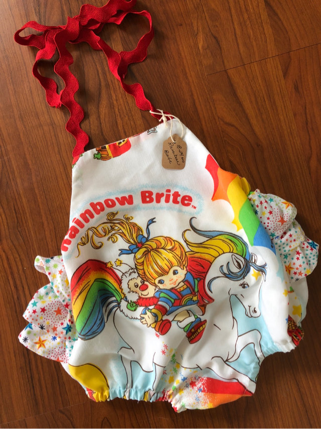 8c3c5006be41 New Rainbow Brite Vintage Romper